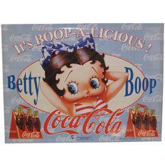 Betty Boop and Coke