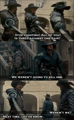 TV Quotes: The Musketeers - Quote - We weren't going to kill him