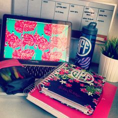 Ahhh I need that planner and the water bottle!