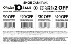 shoe carnival coupons cheap online