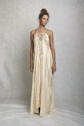 Lisa brown maxi dress