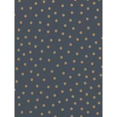 Emma Bridgewater Polka Dot Wallpaper, Charcoal