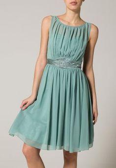Little Mistress - Sukienka koktajlowa - sage Evening Dresses, Summer Dresses, Bridesmaid Dresses, Bridesmaids, Dress Party, Mistress, Green Dress, Sage, Outfits
