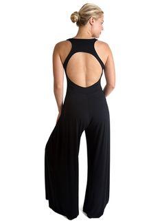 Open Back Jumpsuit | YOGA-CLOTHING.com