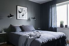 A dreamy Scandinavian home in grey tones (Daily Dream Decor) Scandi Home, Scandinavian Home, Grey Interior Paint, Interior Design, Interior Painting, Painting Doors, Painting Tips, Painting Techniques, Home Bedroom
