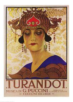 Turandot - Puccini - Large Poster