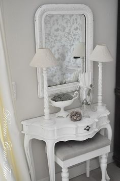 I want my master bed in our next home all grey and white. love this idea.