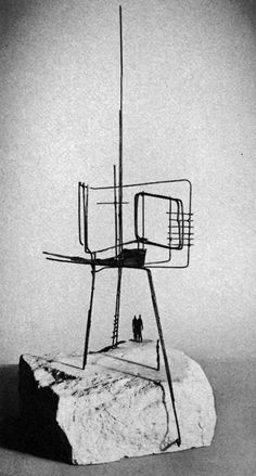 Reg Butler, Project for Monument to the Unknown Political Prisoner, 1951-1952