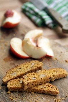 David Lebovitz's cornmeal biscotti