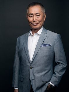 UCSB Arts & Lectures presents Where No Story Has Gone Before, an evening with George Takei, at the Arlington Theatre State St.) on Wednesday, February 15 at p. Hikaru Sulu, S Club 7, Star Trek Ii, Star Trek Universe, Suit Fashion, Feature Film, American Actors, Famous People, Famous Men
