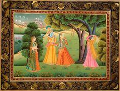 Pichwai Painting - Rajsthani Art.