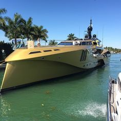 Yachts are not only pretty, they can be also cool and fast.