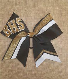 Custom cheer bow, you pick colors, team cheer bows, big softball bow, big cheer bow, glitter cheer bow, custom cheer bow,  hairbow by ThatSparkleShop on Etsy https://www.etsy.com/listing/480250451/custom-cheer-bow-you-pick-colors-team