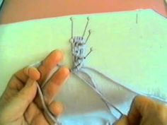 VERY GOOD macrame video series. The video quality is poor, but the technique is well demonstrated, with each knotting method well covered and easy to follow. A great three part series to follow along with until you familiarize yourself with the techniques.