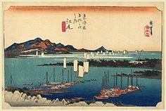 JAPAN PRINT GALLERY: Prints by Hiroshige (Yoko-e)