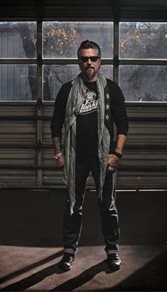 Richard Rawlings, an auto industry innovator & a hero of mine with perfect hair & incredible style.