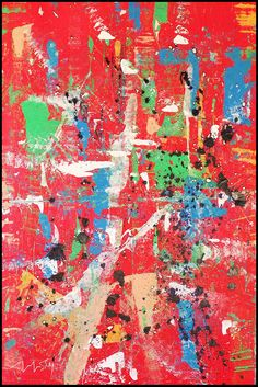Revolution. Abstract art by Hesham Malik.