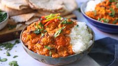 Indian Cuisine and flavours have a huge impact in the UK an probably one of the most iconic dishes is Chicken Tikka Masala. Tender chunks of marinated chargr. Masala Sauce, Garam Masala, Chargrilled Chicken, Crock Pot Freezer, Natural Yogurt, Chicken Tikka Masala, Butter Chicken, Super Easy, Main Dishes