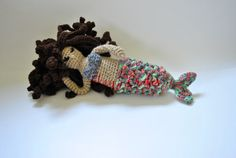 Adaline the Mermaid Doll by EkayG on Etsy