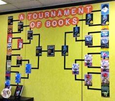Tournament of Books {The Champ Has Been Named!} What a fun, engaging way to get Ss of any age excited about reading!! :D
