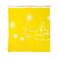 Yellow Submarine Shower Curtain | dotandbo.com