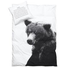 Love a bear me!  Striking print from By Nord Copenhagen    #Scandinavian