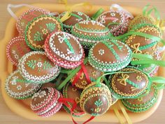 Velikonoční Easter Cookies, Cake Cookies, Gingerbread Cookies, Chocolates, 3 D, Cakes, Holidays, Spring, Desserts