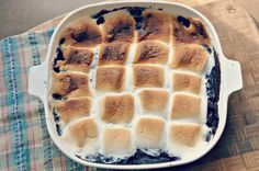 s'more cobbler
