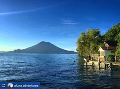 http://OkAtitlan.com #Follow @aluna.adventures: House by the #Lake - #LagoAtitlan #CentralAmerica #Travel #LakeAtitlan #ILoveAtitlan #AmoAtitlan