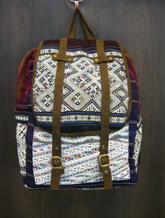 Thai Hmong Embroidered Hand Made Backpack $35.00 at http://www.suredesigntshirts.com