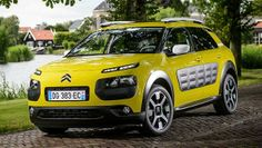 Citroën C4 Cactus - a great city car. Not boring at all. #citroen #cactus