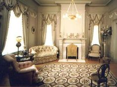 Thisle Hill, Fort Worth - the Parlor for the ladies
