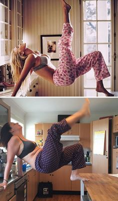 Woman Hilariously Recreates Celebrity Instagram Photos - Gooood Morning Saturday!