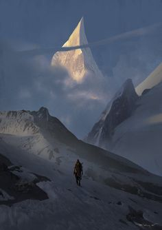 Imaginative and atmospheric artwork by Krystian... | CINEMA/GORGEOUS