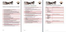Checklisten Katzensitter Tierpension