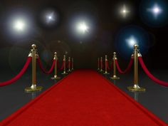Red Carpet for the Hollywood theme idea