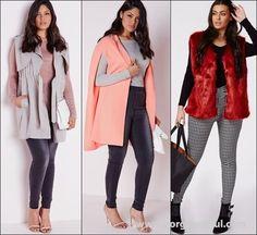 Trendy Plus Size Fashion Coats Fall Winter 2015