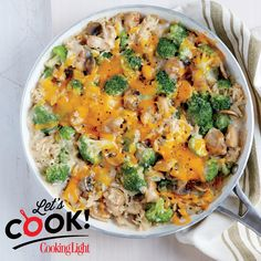 This lightened-up casserole comes together in a pinch.