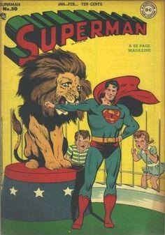 1948-01 - Superman Volume 1 - #50 - The Task that Stumped Superman #SupermanFan #SupermanComics #Superman #ComicBooks  #DCComics