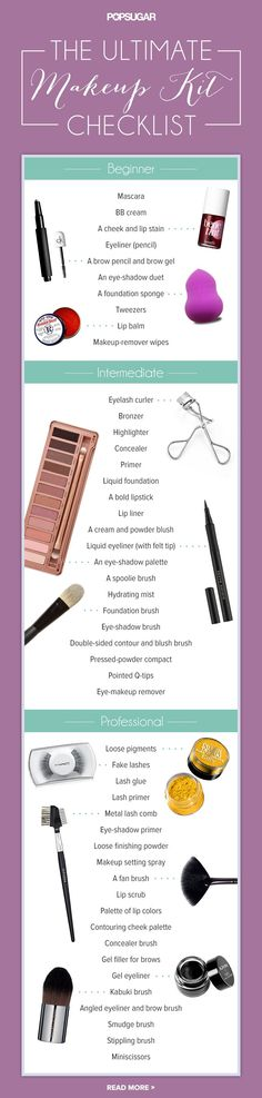 The makeup items every woman needs in her kit!