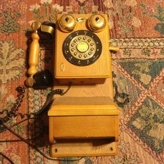 Old phone Old Technology, Vintage Phones, Old Phone, Telephone, Landline Phone, Christmas Gifts, Album, Electronics, Ebay