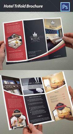 GraphicRiver Hotel Trifold Brochure