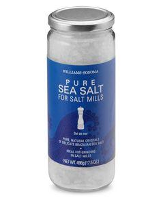 Williams-Sonoma Sea Salt for Salt Mills