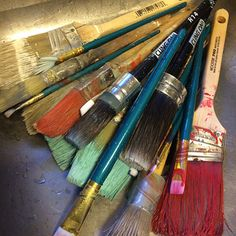 Cleaning Your Paint Brushes the All Natural Way
