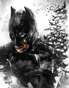Batman Artwork Bats