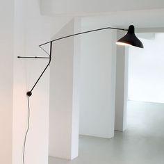 Mantis BS2 Vägglampa Mattsvart Furniture, House, Interior, Lamp, Hotel Furniture, Home Decor, Lights, Inspiration, Furniture Search