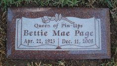 """Bettie Page 