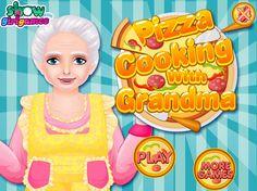 Przygotuj pyszną pizzę z miłą babcią, która potrafi zdziałać cuda w kuchni! http://www.ubieranki.eu/gry/3816/pizza-z-babcia.html