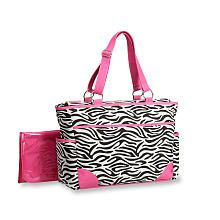 "I just bought this also how cute!!! Carter's Out n About Tote Diaper Bag - Zebra Print - Carters - Babies ""R"" Us"