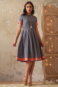 Affordable with wide range of women dresses online store Vajor . Exclusive range of Jewelry, Women Clothing and Bags View Our Latest Collection. Office Wear Dresses, Designer Party Wear Dresses, Casual Dresses, Frock Fashion, Fashion Dresses, Ethnic Kurti, Simple Kurta Designs, Kalamkari Dresses, Casual Frocks